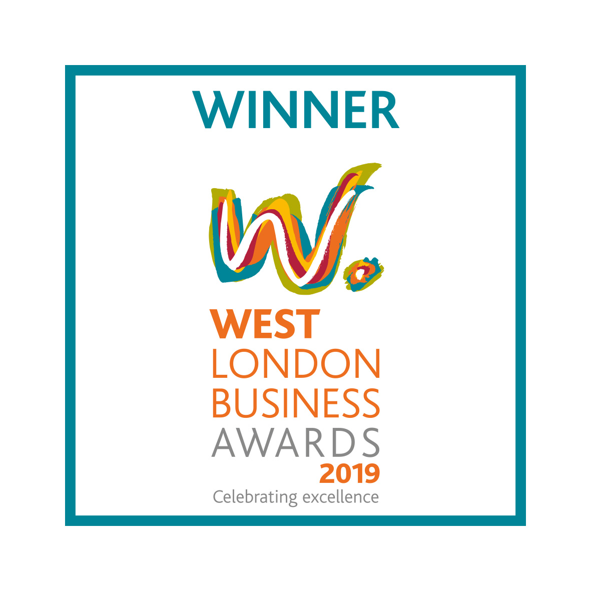 "West London Business Awards 2019 ""Business Services Company of the Year"""